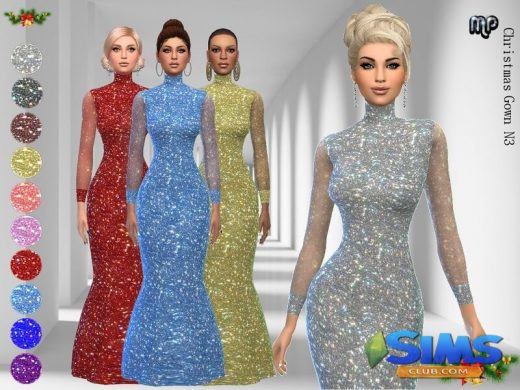 MP Christmas Gown N3