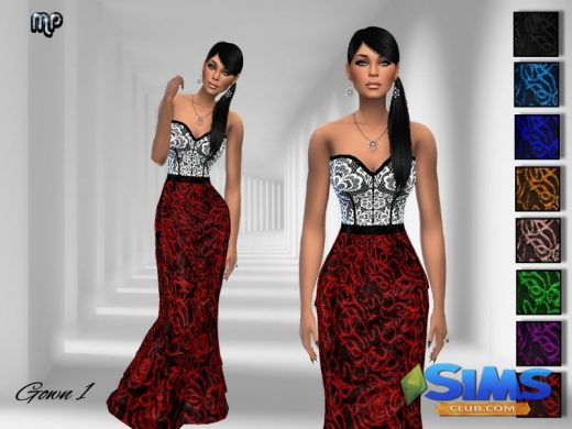 MP Gown N1