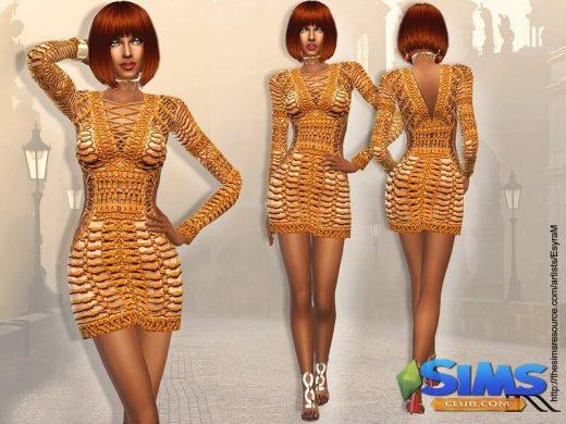 Mini Long Sleeve Dress