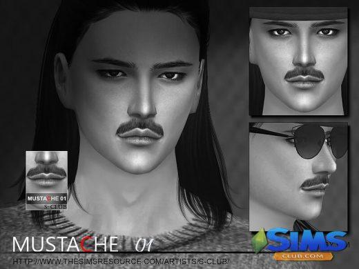 Mustache 01