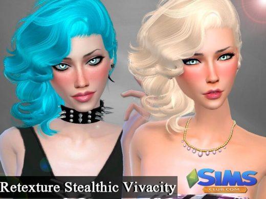 Retexture Hair Stealthic Vivacity