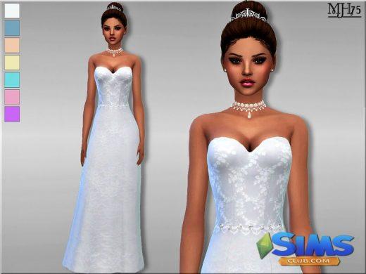 S4 Wedding Day Dress