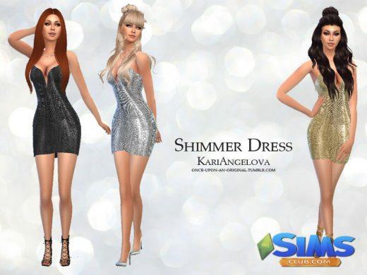 Shimmer Dress - mesh needed