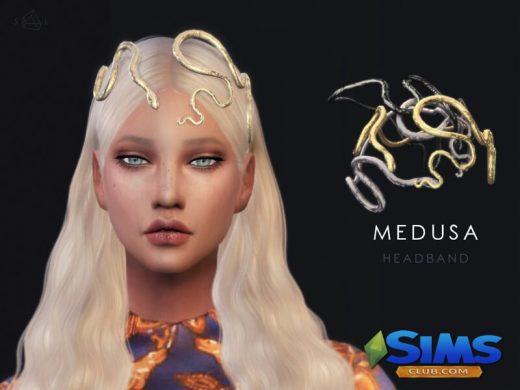 Snake Headband - MEDUSA