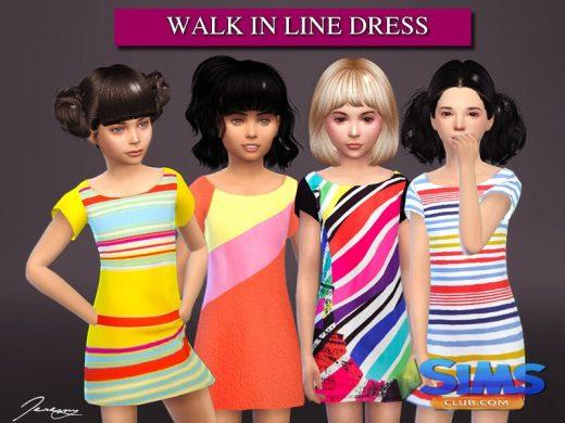 Walk In Line Dress