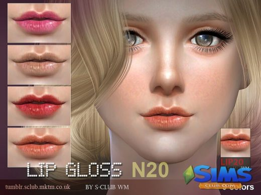 thesims4 Lipstick 20