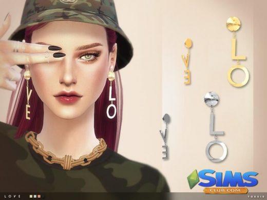 toksik - Love Earrings