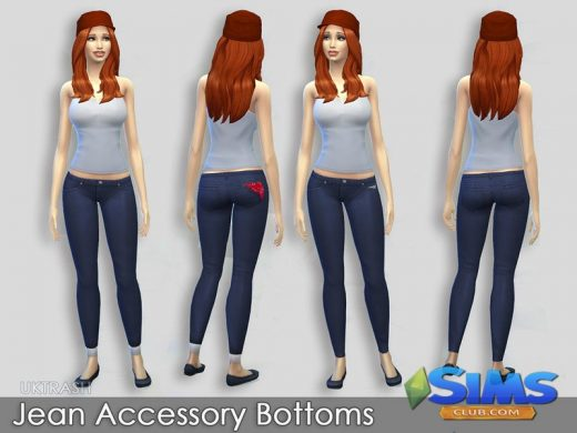 Accessory Jean bottoms
