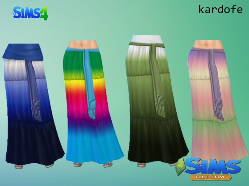 Bottom SkirtMaxi recolor