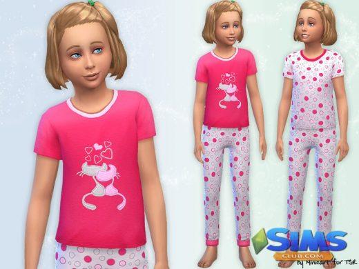 Cat Themed Pyjamas