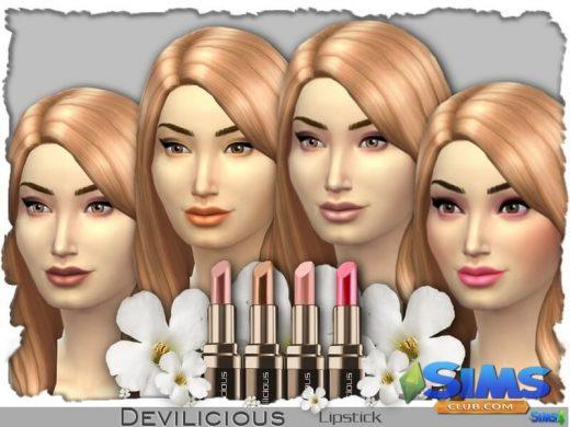 Devilicious Lipsticks