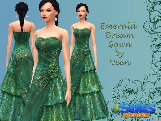 Emerald Dream Gown.
