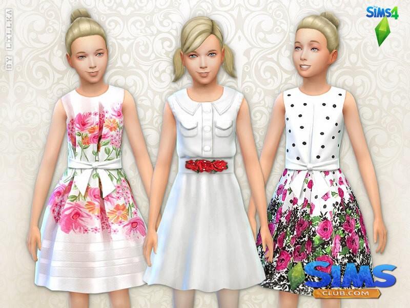 Floral Dresses - Set