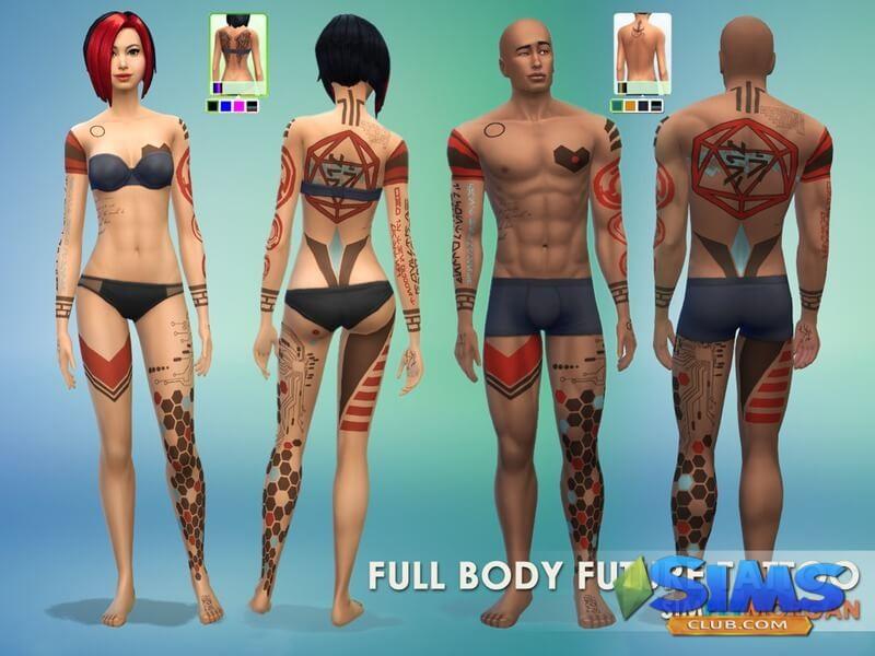 Futuristic Tattoo