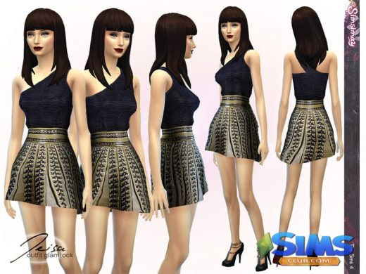 Jeisa Glamrock Outfit