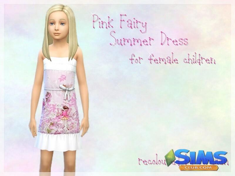 Pink Fairy Summer Dress