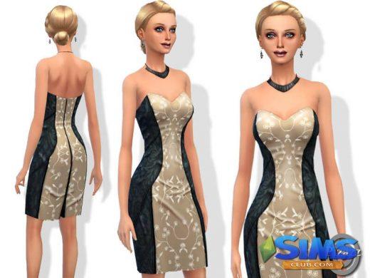 Silk Pencil Dress