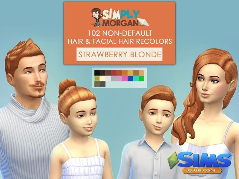 Мужские прически для Симс 4 | Sims-Club - все о игре The ...