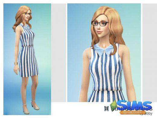 Stripes dress by abby