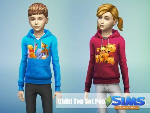 Sweatshirt Set BabyPooh