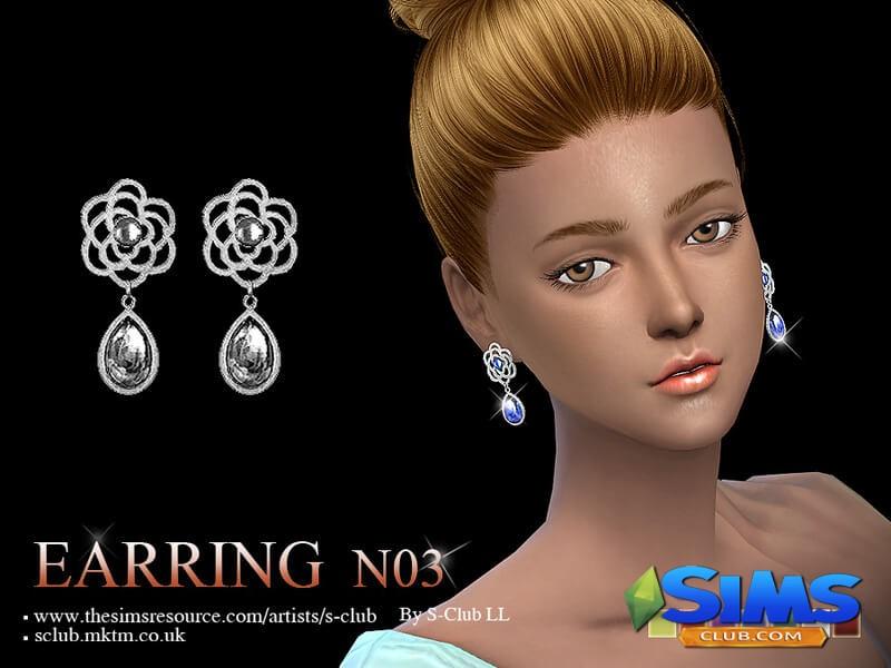 S-Club LL ts4 earring 03
