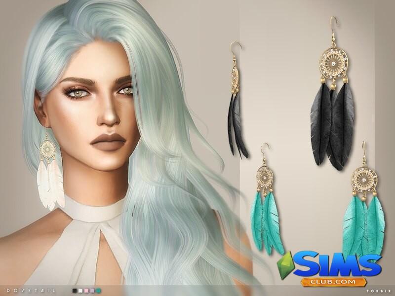 Dovetail Earrings
