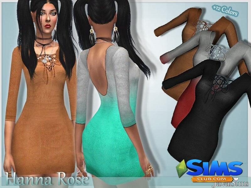 JavaSims- Hanna Rose Outfit
