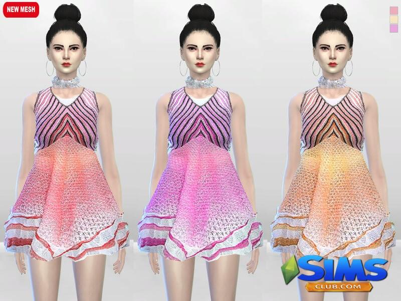 Sugar Creme Full Dress