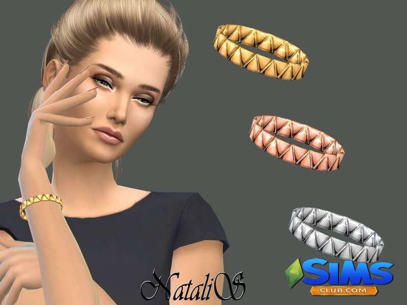 Triangles Bangle Bracelet