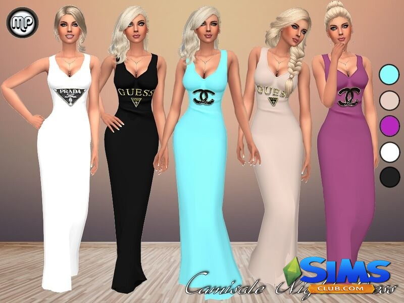 MP Camisole Night Dress