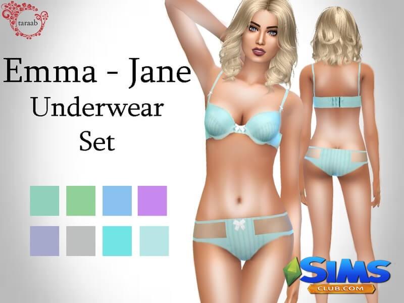 Emma - Jane Underwear Set