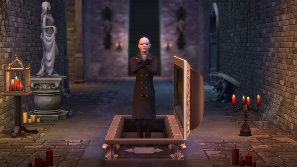 Знакомьтесь, Влад — первый вампир в Форготн Холлоу   Скриншот 6