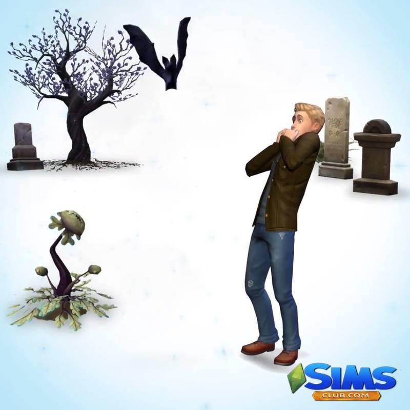 The Sims 4: EA анонсировали игровой набор про вампиров | Скриншот 4