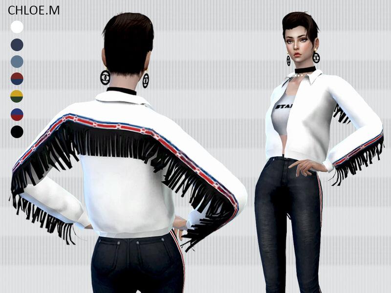 6071b1281a6 Одежда для Симс 4 - скачать дополнения на одежду для Sims 4